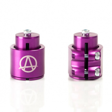 Apex HIC Compression and Double Clamp Purple