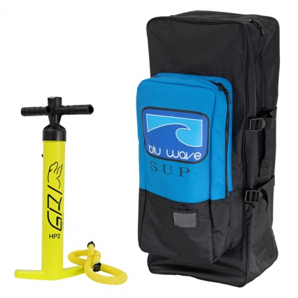 Blu Wave Travel Bag and Pump Package