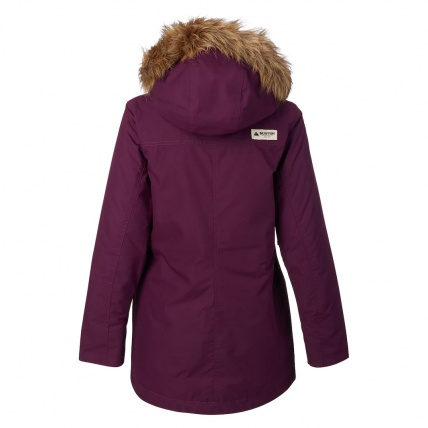 Burton Womens Hazel Jacket in Starling Wax back
