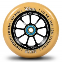 River Wheel Co - Glide 110mm Wheel Pro Ryan Gould-Savage Gum on Black