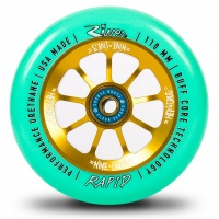 River Wheel Co - Rapids Greg Cohen Sig Nine Lives Mint on Gold Wheel