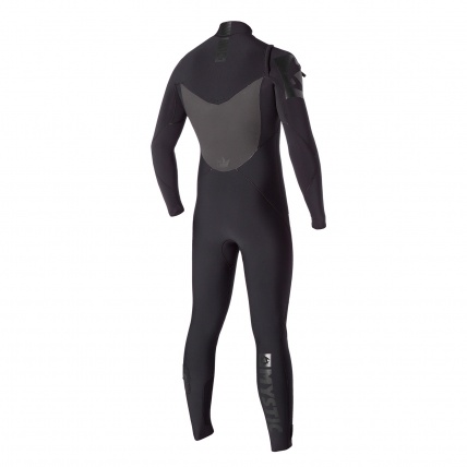 Mystic Majestic 5/3mm FZ Wetsuit in Black  Back