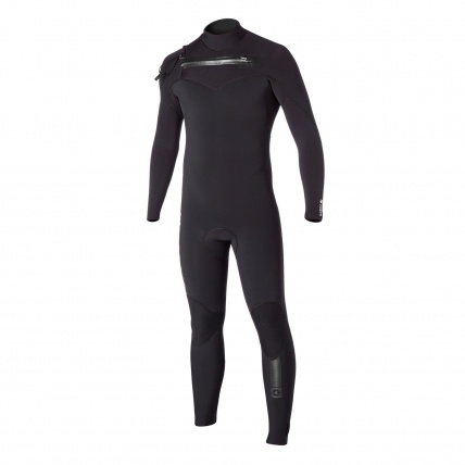 Mystic Majestic 5/3mm FZ Wetsuit in Black Front