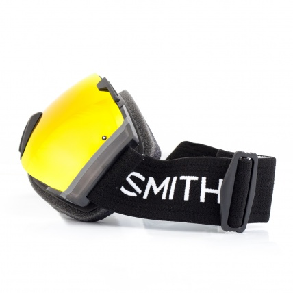 Smith I/O Goggles Black Red SolX side view