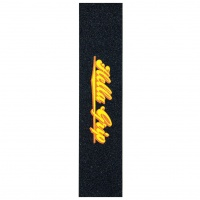 Hella Grip - Classic Logo Orange and Yellow Scooter Griptape