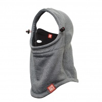 Airhole - Polar Airhood in Heather Grey