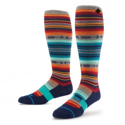 Stance Kirk Merino Wool Light Cushion Mens Snowboard Socks