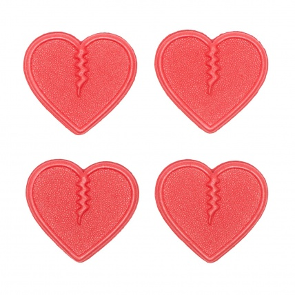 Crab Grab Mini Hearts Track Pack in Pink