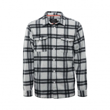 Thirtytwo Rest Stop Fleece Shirt in Grey