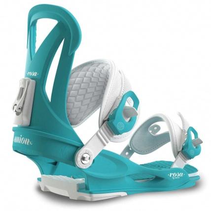 Union Rosa Sky Blue Womens Snowboard Bindings