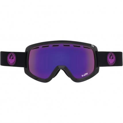Dragon D1 Jet Purple Ion Snowboard Goggles