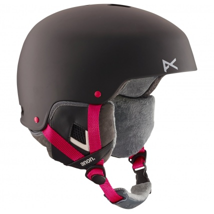 Anon Lynx Womens Snowboard Helmet in Black