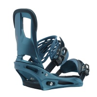 Burton - Cartel Reflex Snowboard Bindings in Blue Boy