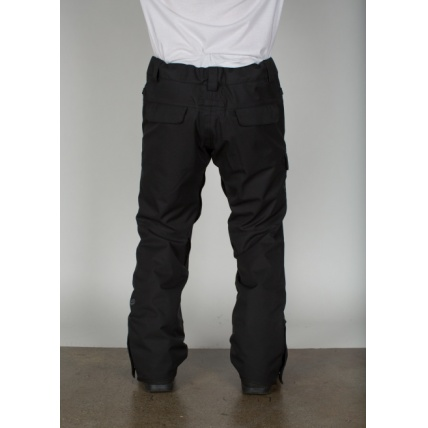 686 Authentic Rover Black Pant Model Rear View
