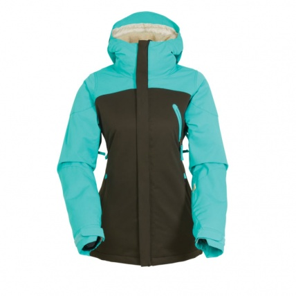 686 Womens Authentic Festival Insulated Coffee Jacket