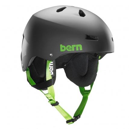 Bern Team Macon Matte Black EPS Helmet