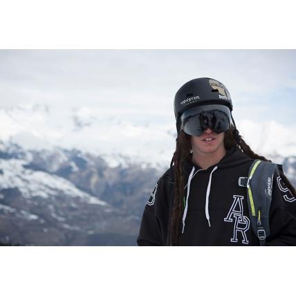 Bern Team Macon Mens Black Matte EPS Helmet David Malacrida