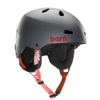 Bern - Team Macon Mens Matte Grey EPS Helmet