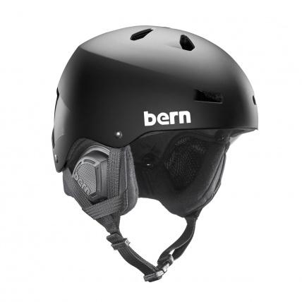 Bern Macon Matte Black EPS Helmet
