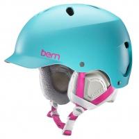 Bern - lenox Womens Satin Aqua EPS Helmet