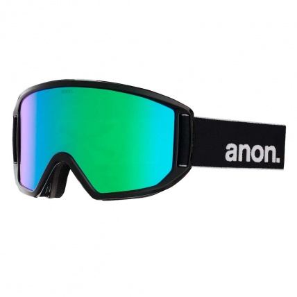 Anon Relapse Black Sonar Green Zeiss Snow Goggle