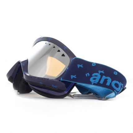 Anon Helix Snowboard Goggle in Logonet with Silver lens