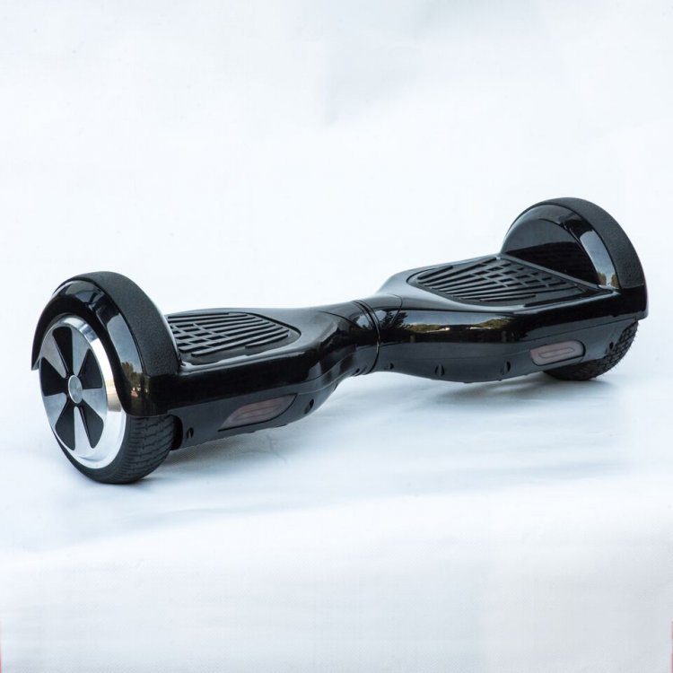 Iskute Balance Board: ISkute Self-Balancing Segway In Black