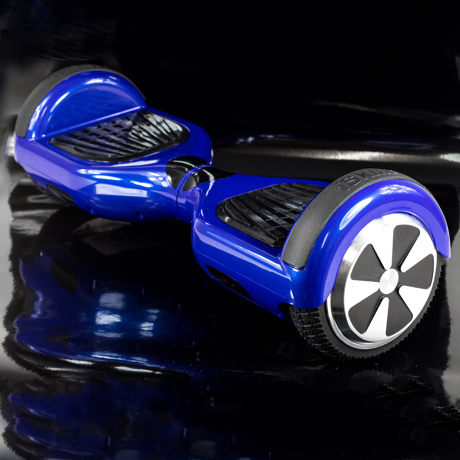 Iskute Balance Board: ISkute Self-Balancing Segway In Blue
