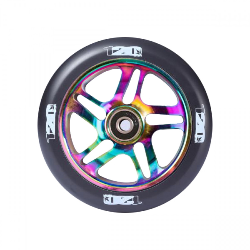 Scooter wheels have become one of the most important parts of the set up as freestyling and big tricks has become the norm Eagle Sport Metal Core Wheels lead the way