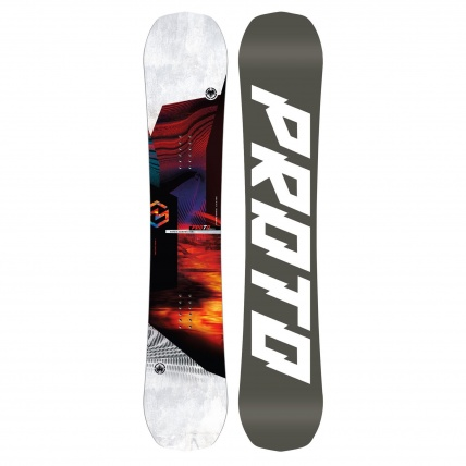 Never Summer Proto Type Two Snowboard Twin All Mountain