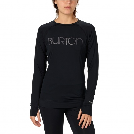 Burton Womens Midweight Crew Base Layer on Model