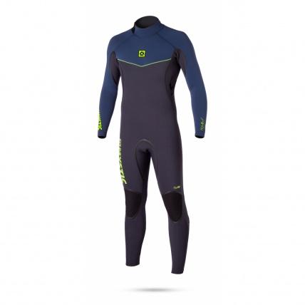 Mystic Voltage 5/4mm Back Zip Wetsuit in Navy