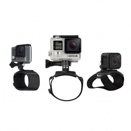 GoPro The Strap, Hand, Wrist, Arm and Leg Mount compatible with all GoPros