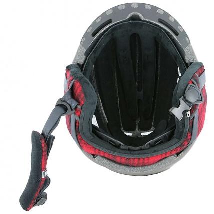 Inside detail of Smith Maze Matte Root Woolrich Helmet