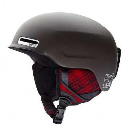 Smith Maze Matte Root Woolrich Snowboard Helmet