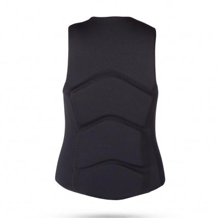 Mystic Brand Impact Vest Black back view