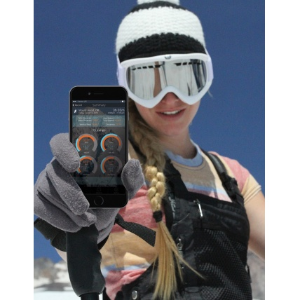 Xensr 3D Sports visualiiser being used for skiing