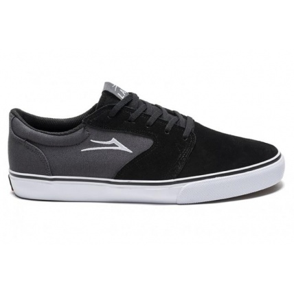 Lakai Fura in Black Suede Side View