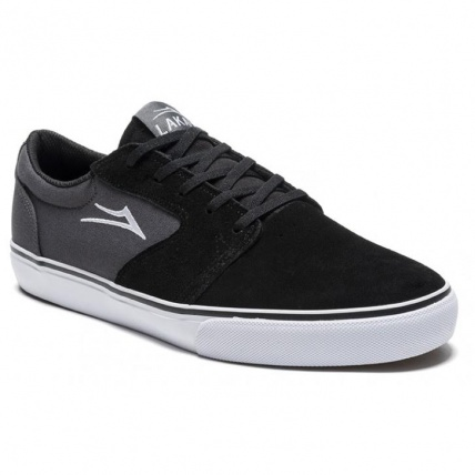 Lakai Fura in Black Suede