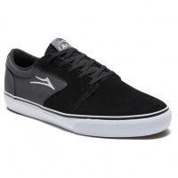 Lakai - Fura Black Grey Suede Skate Shoes
