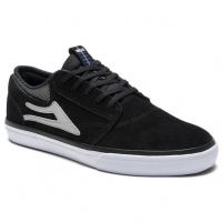 Lakai - Griffin Skate Shoes in Black Suede