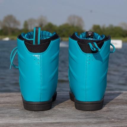 Hyperlite AJ System Wakeboarding Boot 2016 in Blue back