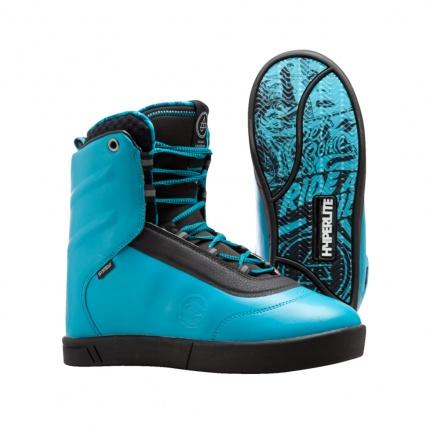 Hyperlite AJ System Wakeboarding Boot 2016 in Blue