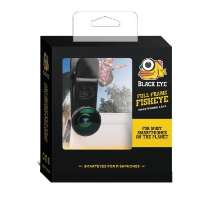 Black Eye G3 Clipper 180 Full Frame Fisheye Lens Box