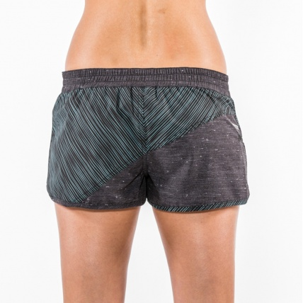Mystic Blurred Lines Womens Board Short Clear Water back
