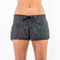 Mystic - Blurred Lines Womens Board Short Clear Water