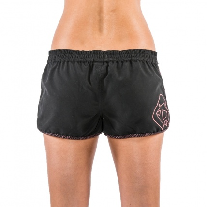 Mystic Sublime Womens Board Short Caviar back