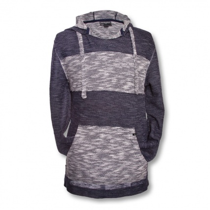 Mystic Panchito Fleece in Blue front