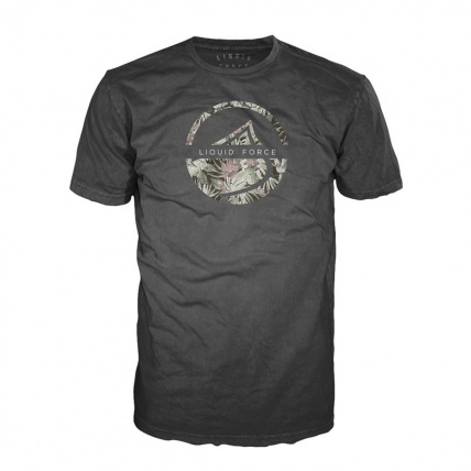 Liquid Force Planted Tee in Charcoal