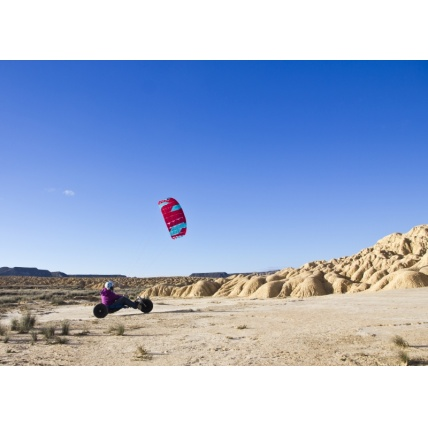 Peter Lynn Uniq Single Skin Power Kite in Red Aqua